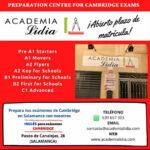 Preparación de exámenes de Cambridge en Salamanca