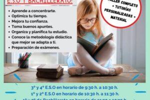 Taller de técnicas de estudio en Salamanca