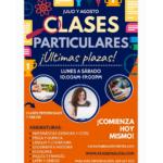 clases particulares julio y agosto