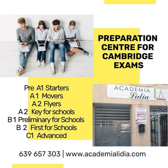Preparation Centre for Cambridge Exams Salamanca