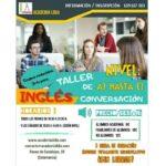 Talleres Conversación en inglés